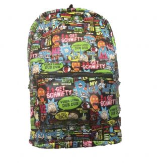 Rick & Morty Icons Back Pack